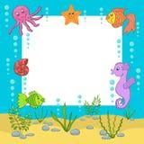 Quadro do mar Ilustração do vetor ilustração royalty free