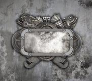 Quadro do metal e auto carro velho das peças sobresselentes Foto de Stock