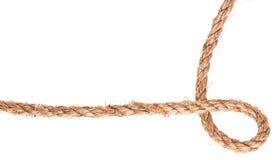 Quadro do nó da corda Imagens de Stock