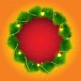 Quadro do Natal Fotografia de Stock Royalty Free