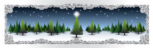 Quadro do Natal Fotos de Stock