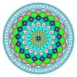 Quadro do ornamento de Tunissian ilustração do vetor