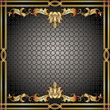 Quadro do ornamento do vintage Imagem de Stock Royalty Free