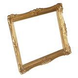 Quadro do ouro fotografia de stock royalty free