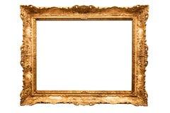 Quadro do ouro Imagem de Stock