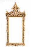 Quadro do ouro da imagem Foto de Stock