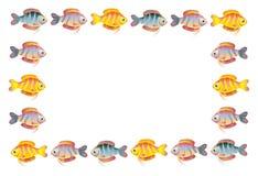 Quadro do peixes Imagem de Stock