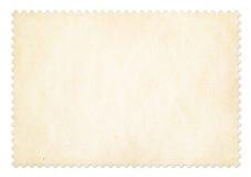 Quadro do selo postal isolado com trajeto de grampeamento Fotos de Stock