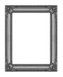 Quadro do vintage isolado no fundo branco com trajeto de grampeamento Fotos de Stock