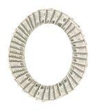 Quadro dos dólares Foto de Stock