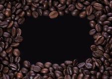 Quadro dos feijões de café Imagens de Stock Royalty Free