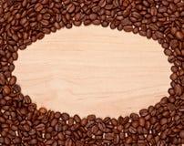 Quadro dos feijões de café Fotografia de Stock