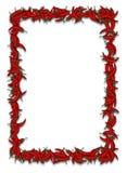 Quadro dos pimentões quentes Fotografia de Stock Royalty Free