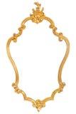 Quadro dourado Imagens de Stock Royalty Free