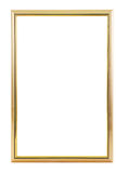 Quadro dourado Fotos de Stock Royalty Free