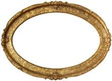 Quadro dourado Foto de Stock Royalty Free