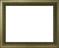 Quadro dourado para pintar Fotos de Stock Royalty Free