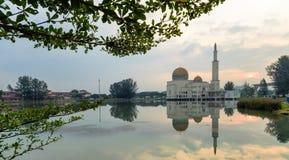 Quadro e reflexões da fé e da serenidade Fotografia de Stock