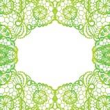 Quadro elegante laçado Cartão _1 do convite Fotografia de Stock Royalty Free