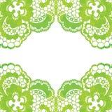 Quadro elegante laçado Cartão _1 do convite Imagem de Stock