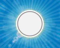Quadro em Sunny Shiny Background Vetora Imagem de Stock Royalty Free