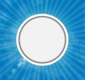 Quadro em Sunny Shiny Background Vetora Imagens de Stock