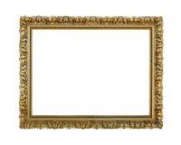 Quadro envelhecido ouro Imagens de Stock Royalty Free