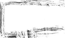 Quadro escovado da textura da cópia da tinta no vetor de papel ilustração do vetor