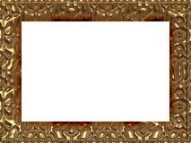 Quadro estilo barroco na textura gerada Imagens de Stock