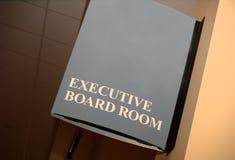 Quadro executivo, espaço da cópia Fotografia de Stock