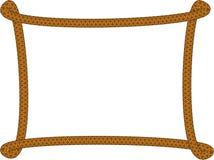Quadro feito da corda, vetor ilustração royalty free