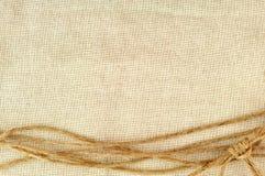 Quadro feito das cordas Imagem de Stock Royalty Free