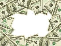 Quadro feito do dinheiro Imagem de Stock Royalty Free