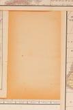 Quadro feito dos mapas Fotografia de Stock