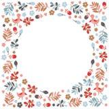 Quadro floral Foto de Stock