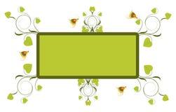 Quadro floral Imagens de Stock Royalty Free
