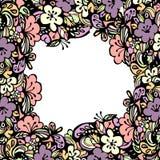 Quadro floral bonito Fotografia de Stock