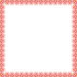 Quadro floral da multa do vetor Imagem de Stock