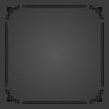 Quadro floral da multa do vetor Fotografia de Stock Royalty Free
