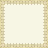 Quadro floral da multa do vetor Imagens de Stock Royalty Free