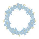 Quadro floral do Natal Fotos de Stock Royalty Free