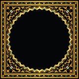 Quadro geométrico árabe ilustração stock