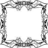 Quadro geométrico afiado Fotos de Stock Royalty Free
