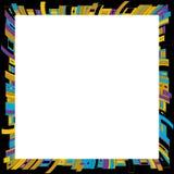 Quadro geométrico do vetor Fotografia de Stock Royalty Free