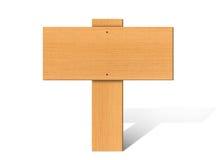 Quadro indicador de madeira Foto de Stock