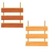Quadro indicador de madeira Fotografia de Stock