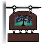 Quadro indicador de madeira no estilo de Europa Imagens de Stock Royalty Free