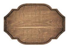 Quadro indicador, placa, prancha e obscuridade de madeira de Brown imagem de stock royalty free