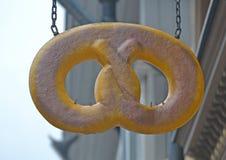 Quadro indicador - pretzel Foto de Stock
