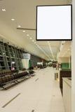 Quadro indicador vazio no aeroporto Imagens de Stock Royalty Free